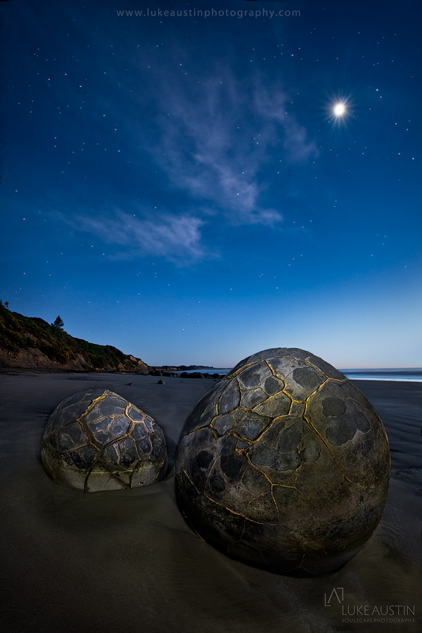 Photograph Moeraki Boulders - New Zealand by Luke Austin on 500px