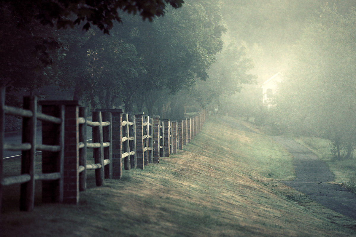Photograph Sammamish Fence by Sparth (Nicolas Bouvier) on 500px