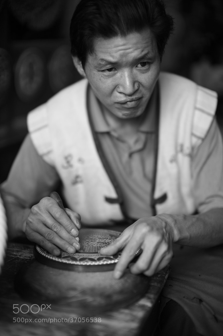 Photograph Look of a Craftsmen by Tem Erdenebat on 500px