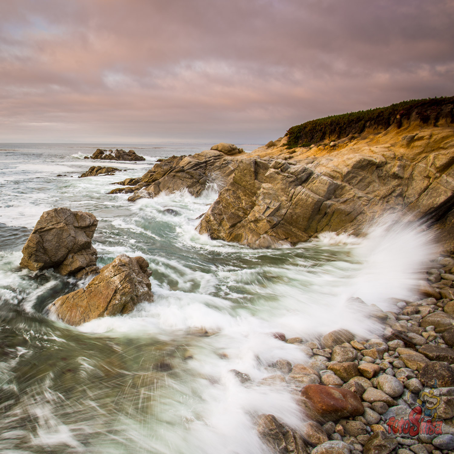 Photograph Monterey California coast line by Pete Leong on 500px