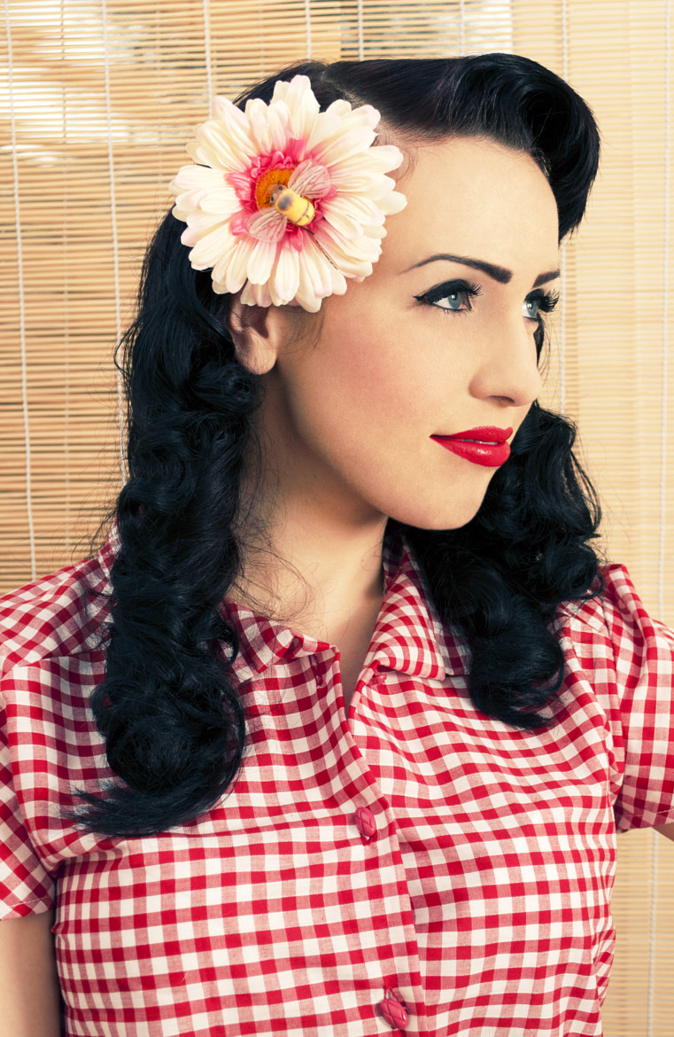 Photograph Fifties Girl by Hannah Stubbs on 500px