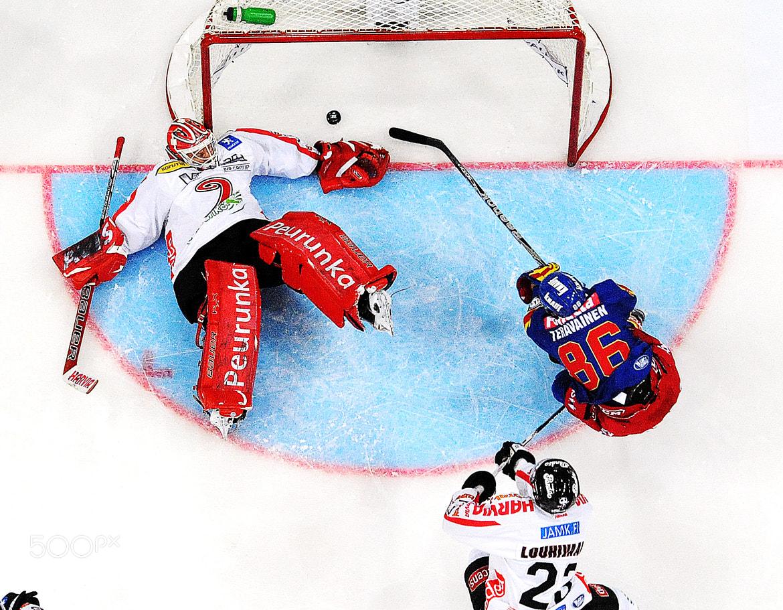 Photograph First goal by Vesa Koivunen on 500px