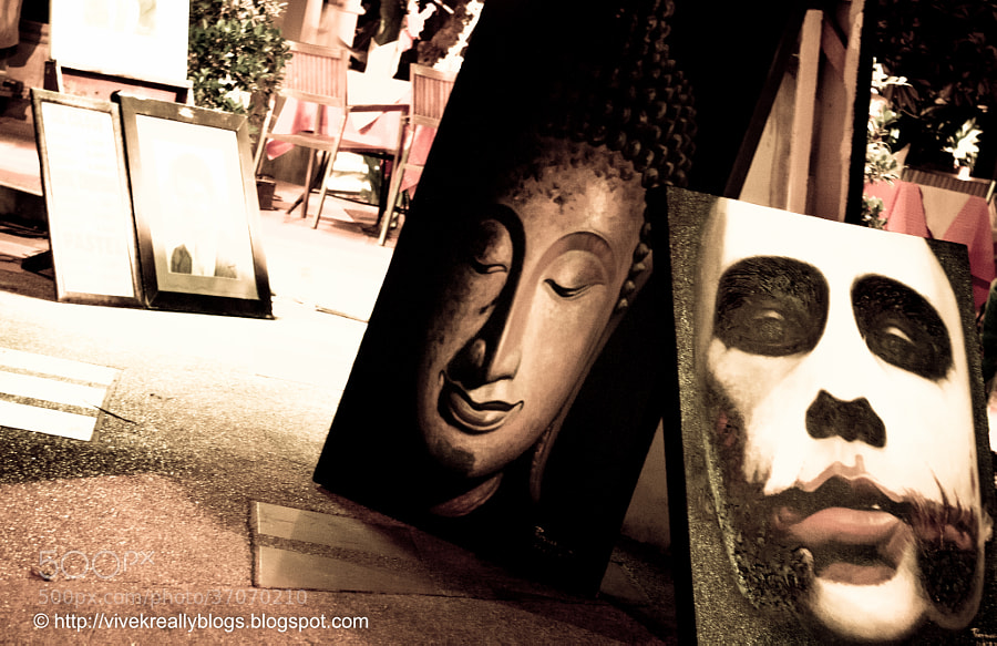 Buddha and The Joker by Vivek Pandey (pandeyvivek)) on 500px.com