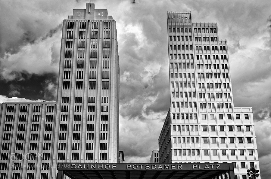 Photograph Potsdamer Platz by Piet Osefius on 500px