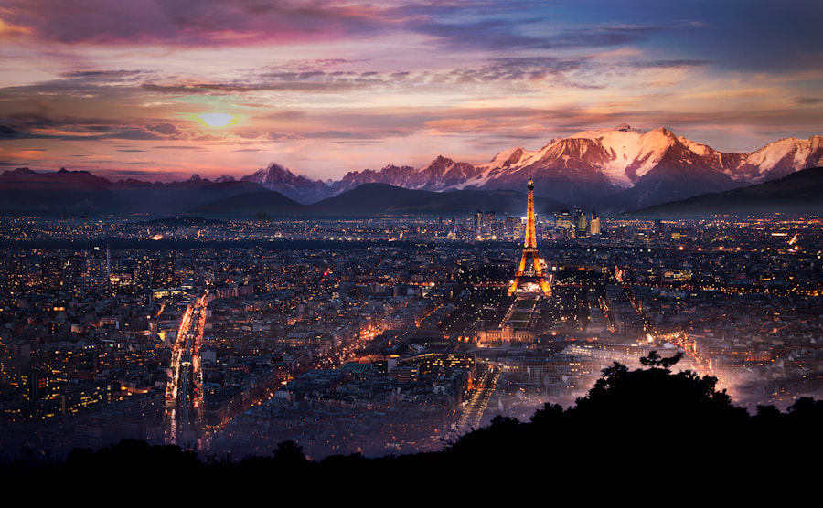 Photograph Paris in the montain  by Ramelli Serge on 500px