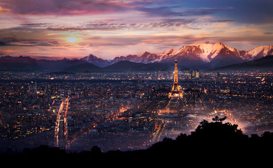 Paris in the montain