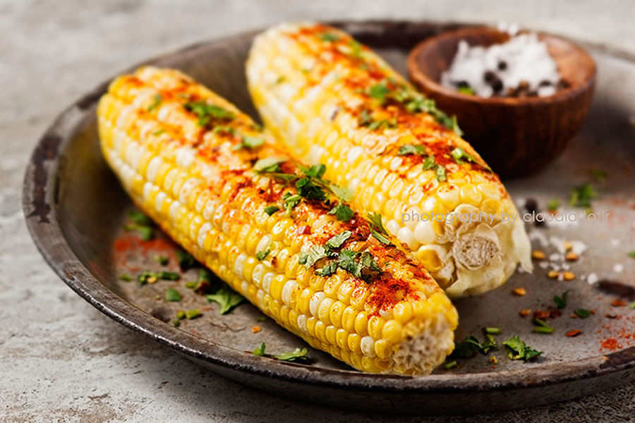 Photograph Grilled Corn by Claudia Totir on 500px