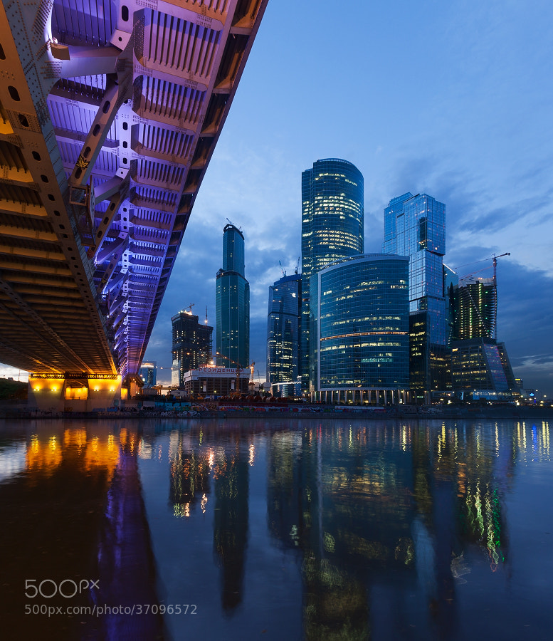 Photograph Skyscrappers Moscow-city by Sergey Ershov on 500px