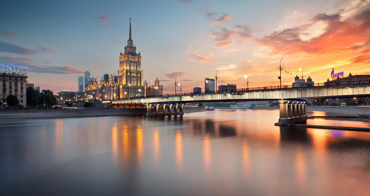 Photograph Sunset in Moscow by Sergey Ershov on 500px