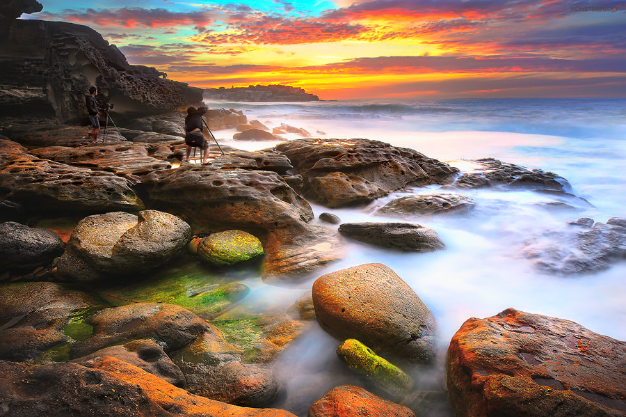 Photograph South Bondi with my friends by MONSTERMICKY ! on 500px