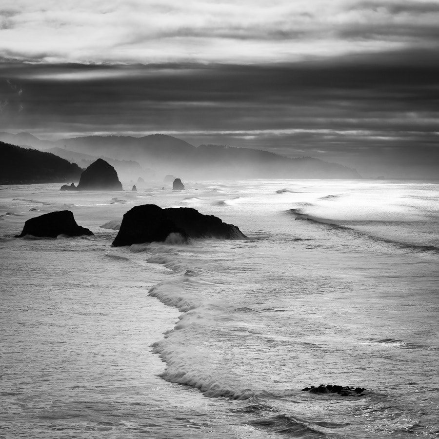 Photograph As The Waves Roll In by Brian Pemberton on 500px
