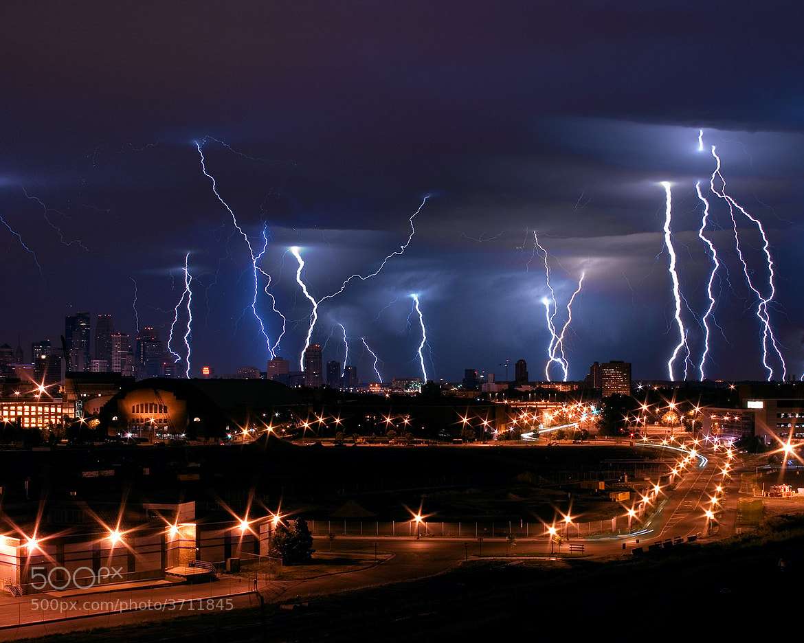 Photograph MPLS Lightning by Andrew Walsh Photography on 500px