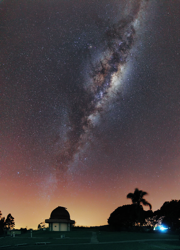 Photograph Milky way stretching up by Rafael Defavari on 500px