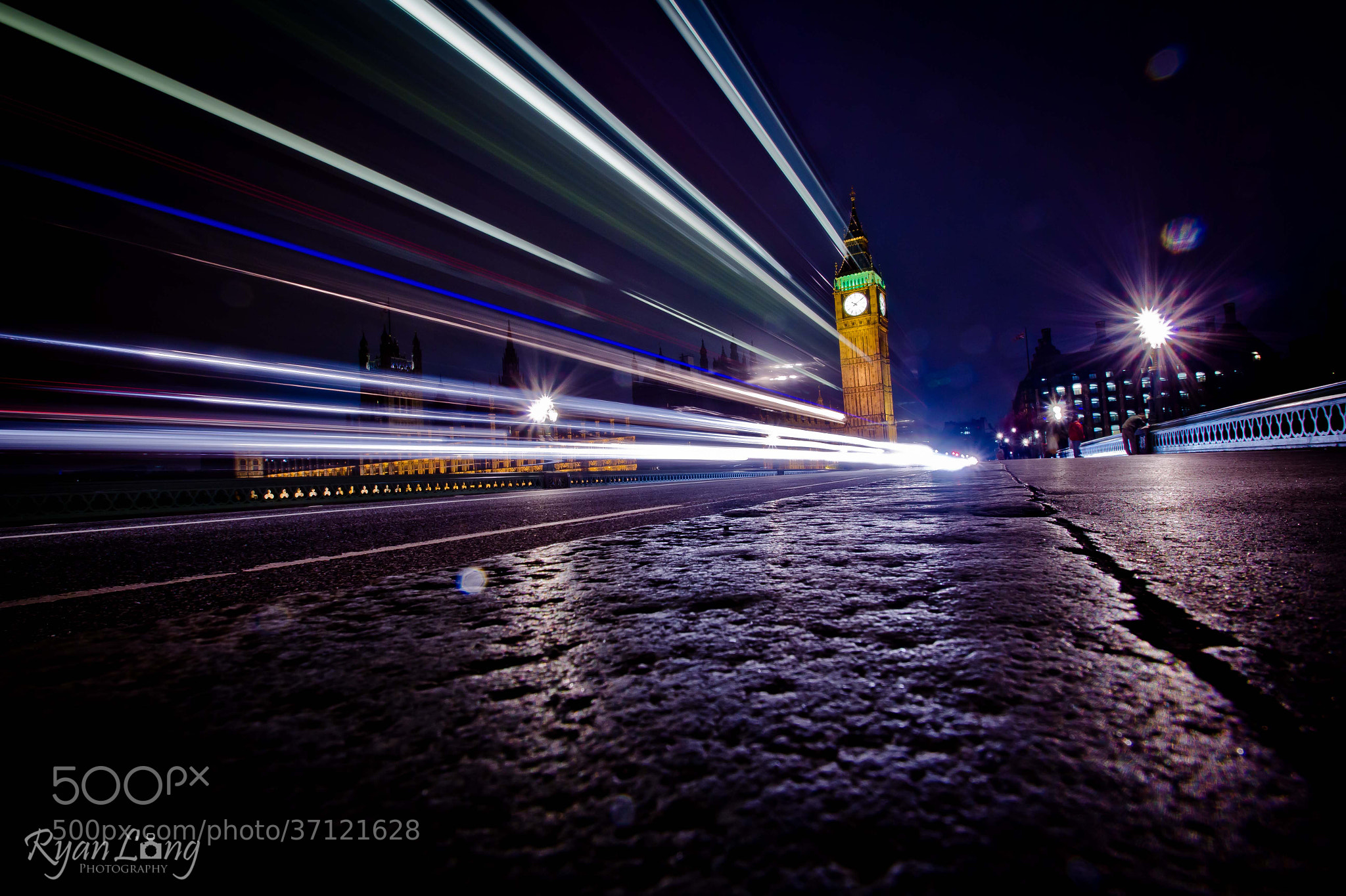 Photograph Big Ben at night by R Long on 500px
