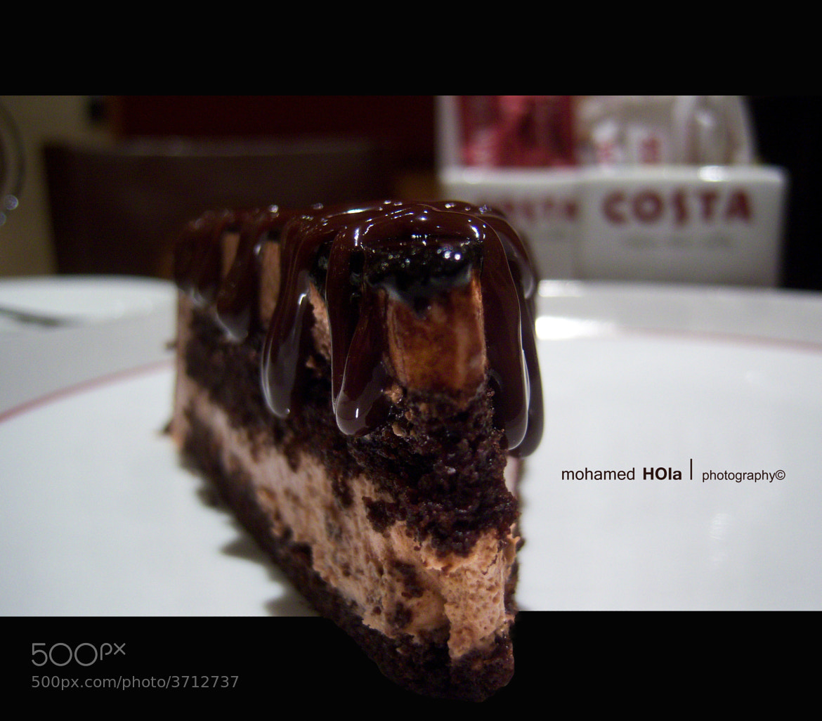 Photograph chocolate cake ! Eat me if u can  by Mohamed HOla on 500px
