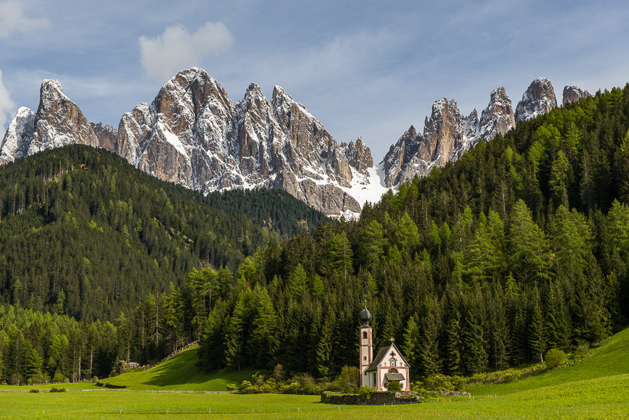 Photograph Sct. Johann Church in Val di Funes. by Hans Kruse on 500px