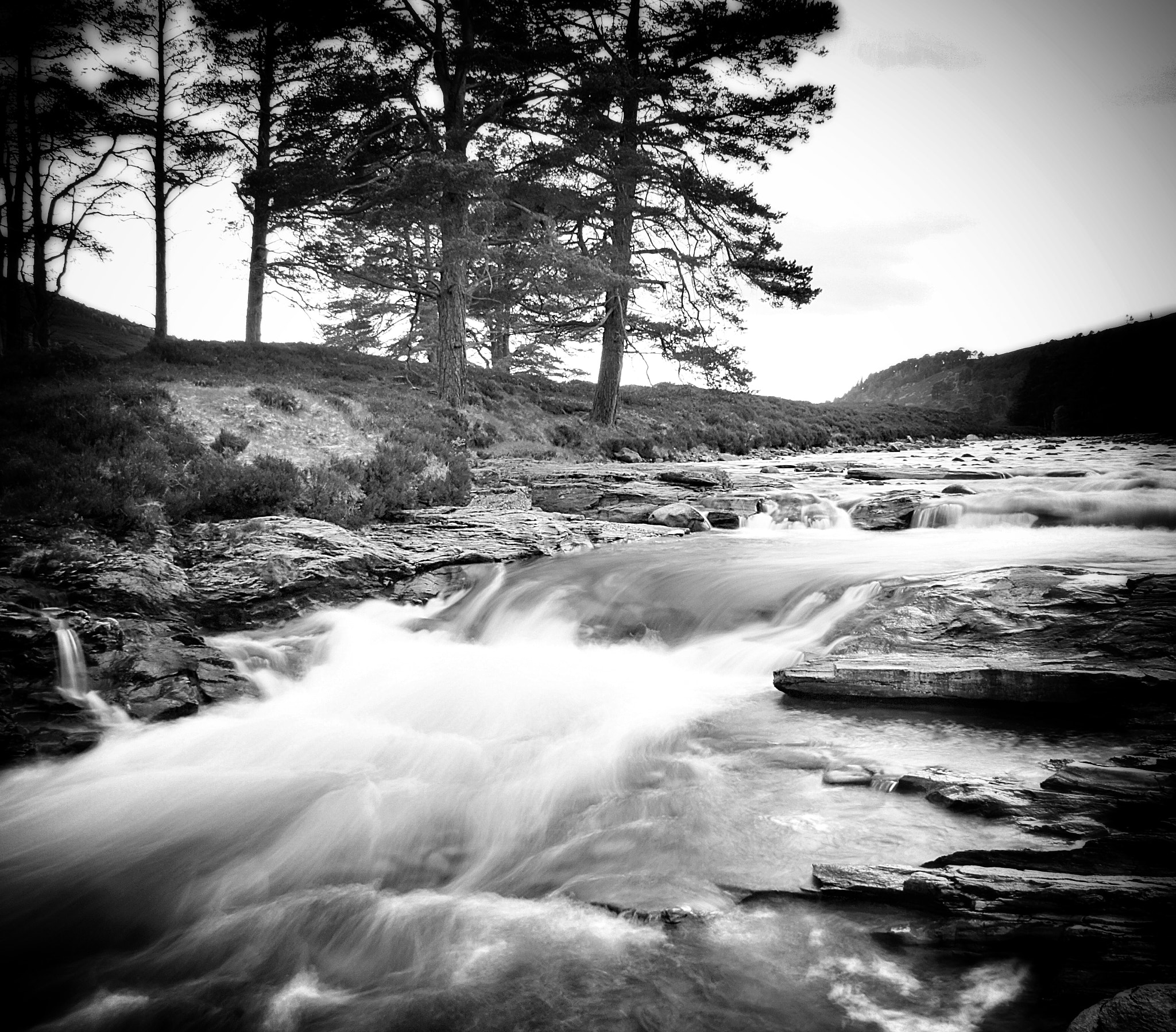 Photograph The Linn Of Dee by  Gordon  on 500px