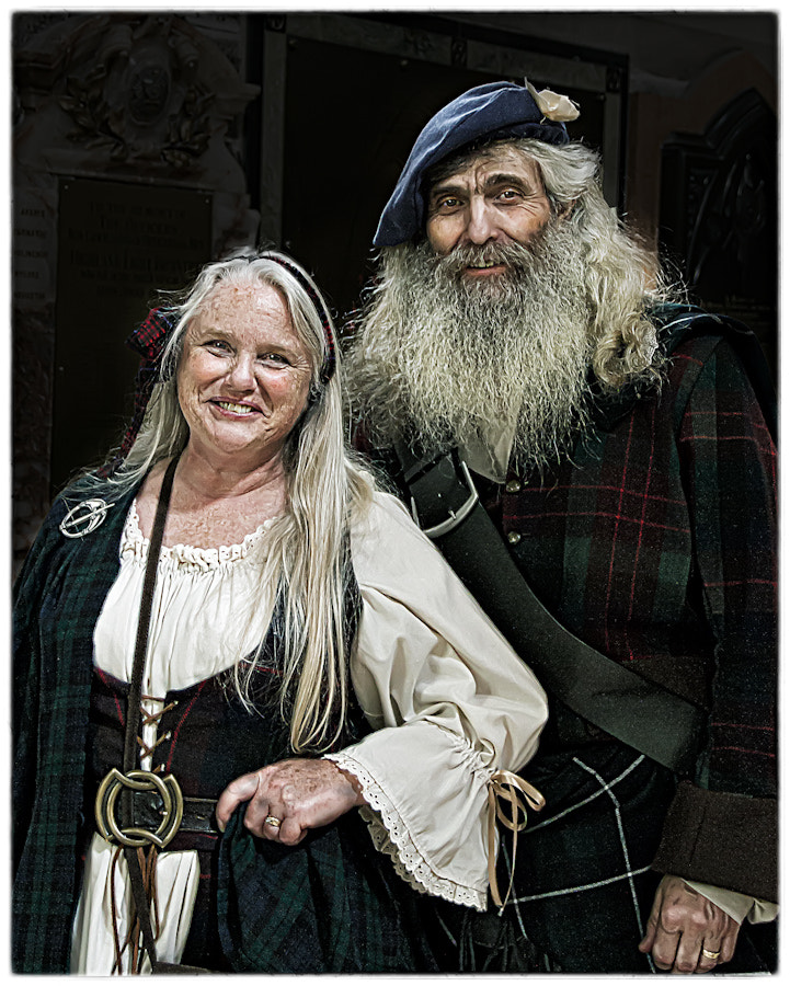 Photograph A Fine Scottish Couple by Ian McConnell on 500px