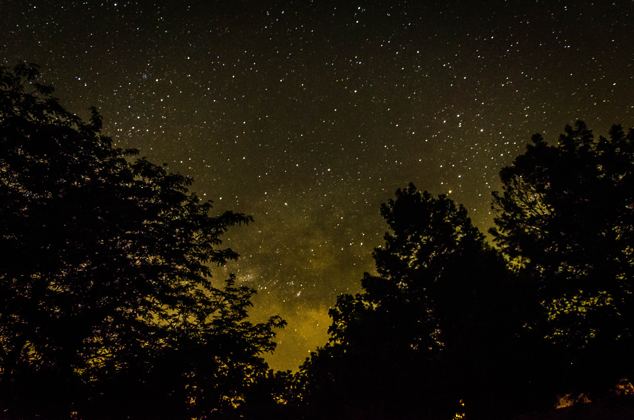 Photograph Looking for the Milky Way by Jerry Dean on 500px