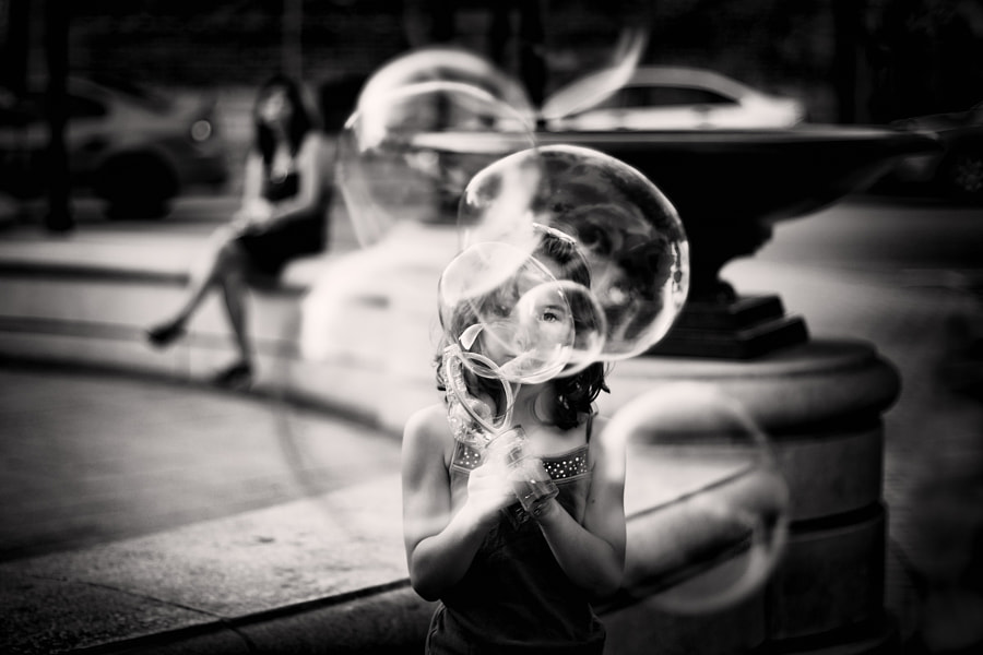 Black and white portraits -Photograph Rose-tinted bubbles by Tatiana Avdjiev on 500px