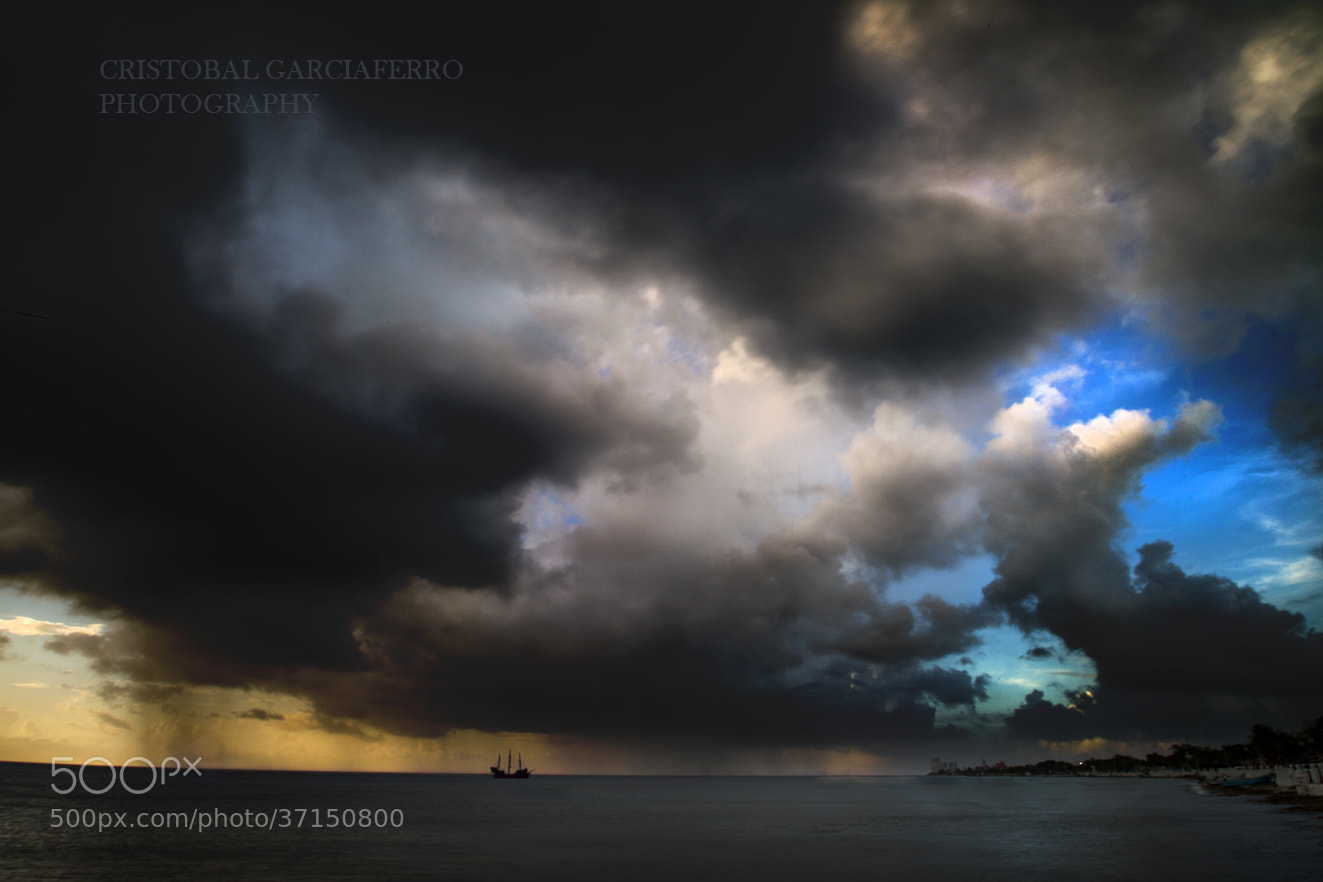 Photograph Storm at Cozumel by Cristobal Garciaferro Rubio on 500px