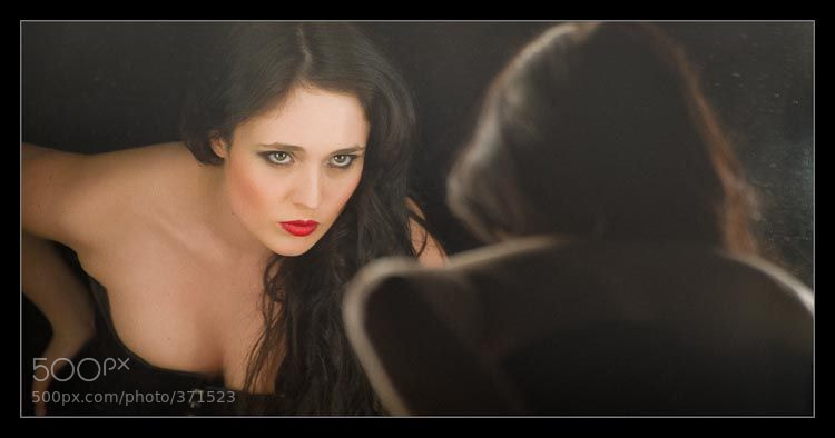 Photograph Checking Makeup, Checking soul by Si Young on 500px