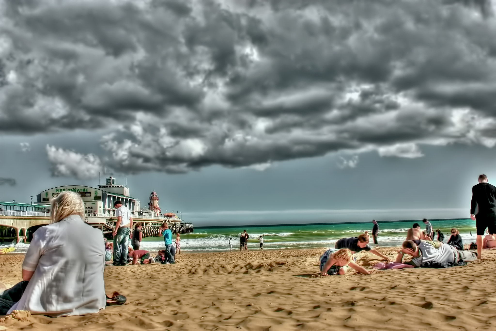 Photograph Day at the Beach by Sid B on 500px
