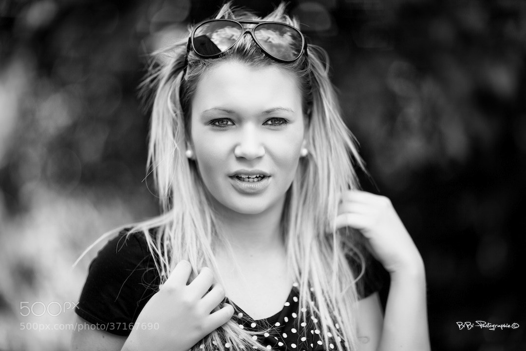 Photograph Tatiana B/W by Vincent Haetty on 500px