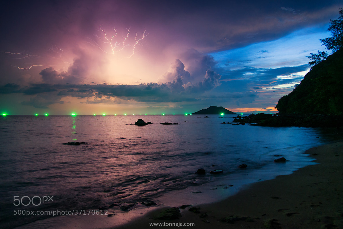 Photograph Thunderstorm by Tonnaja Anan Charoenkal on 500px