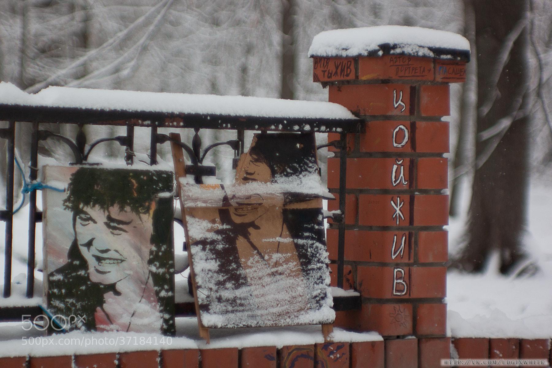 Photograph памяти Виктора Цоя (Viktor Tsoi) by Evgeny Belyaev on 500px