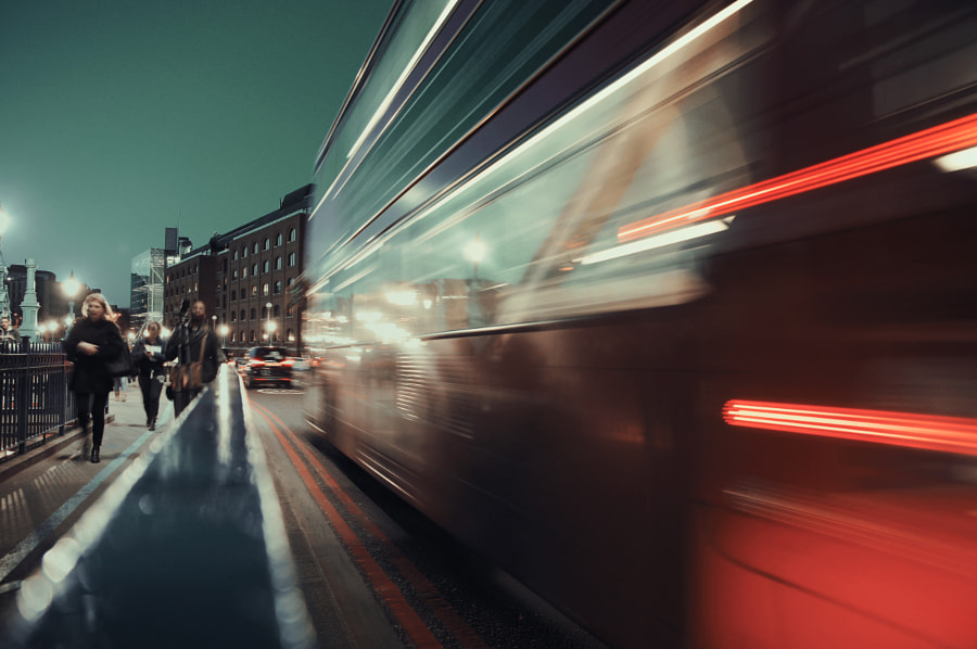 London bus by kimerajam . on 500px.com
