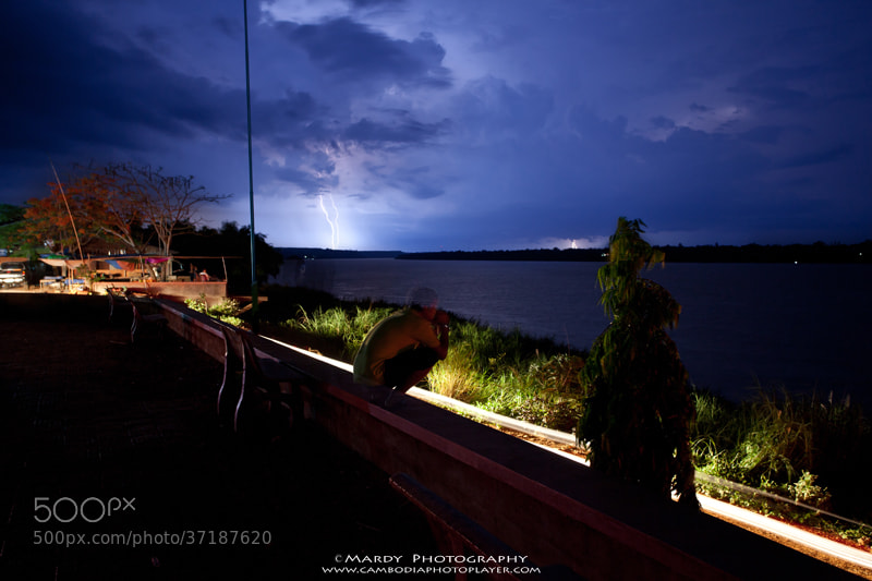 Photograph I'm scaring lightning ! by Mardy Photography on 500px