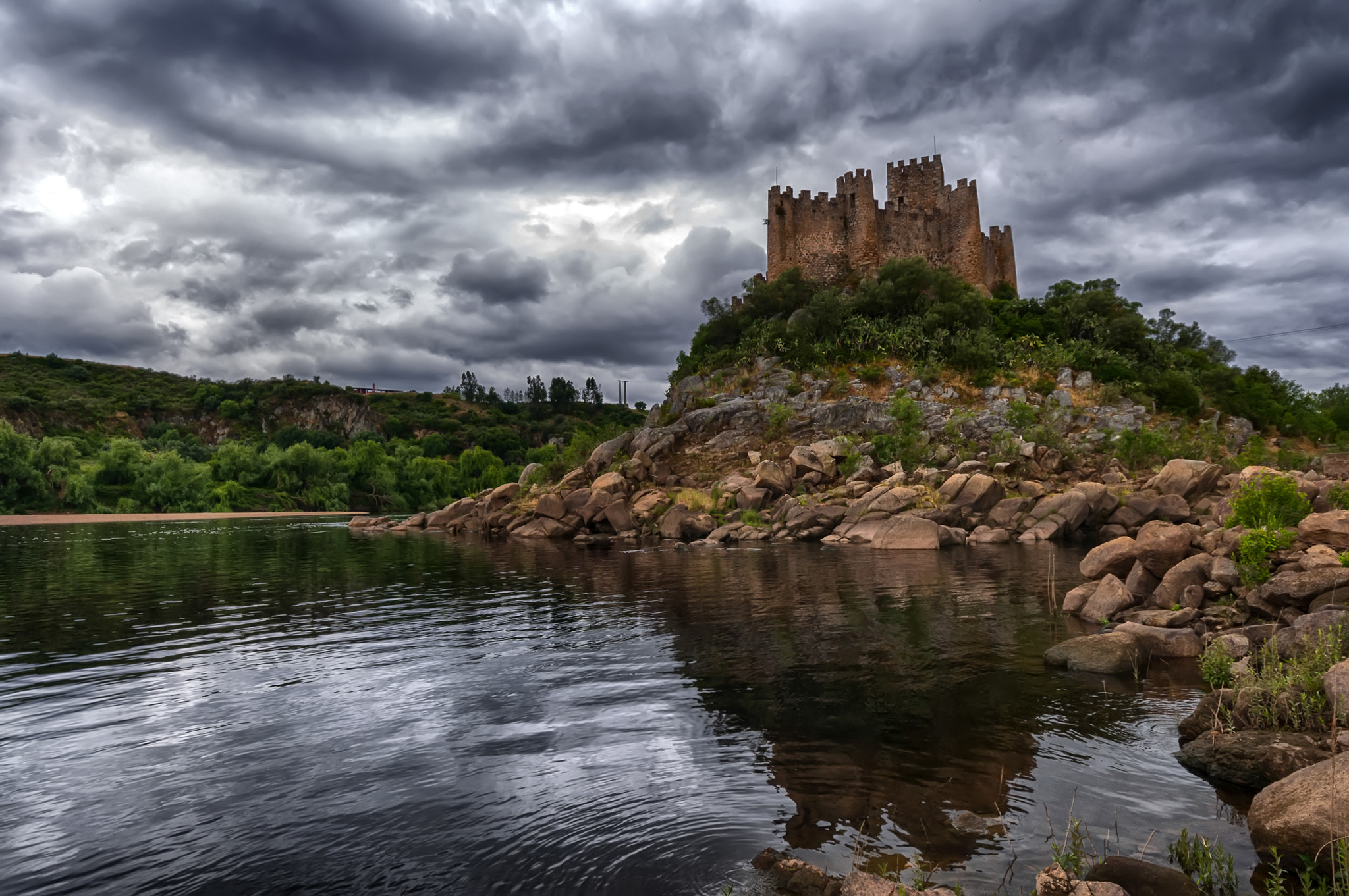 Photograph Castelo de Almourol by Jorge Orfão on 500px