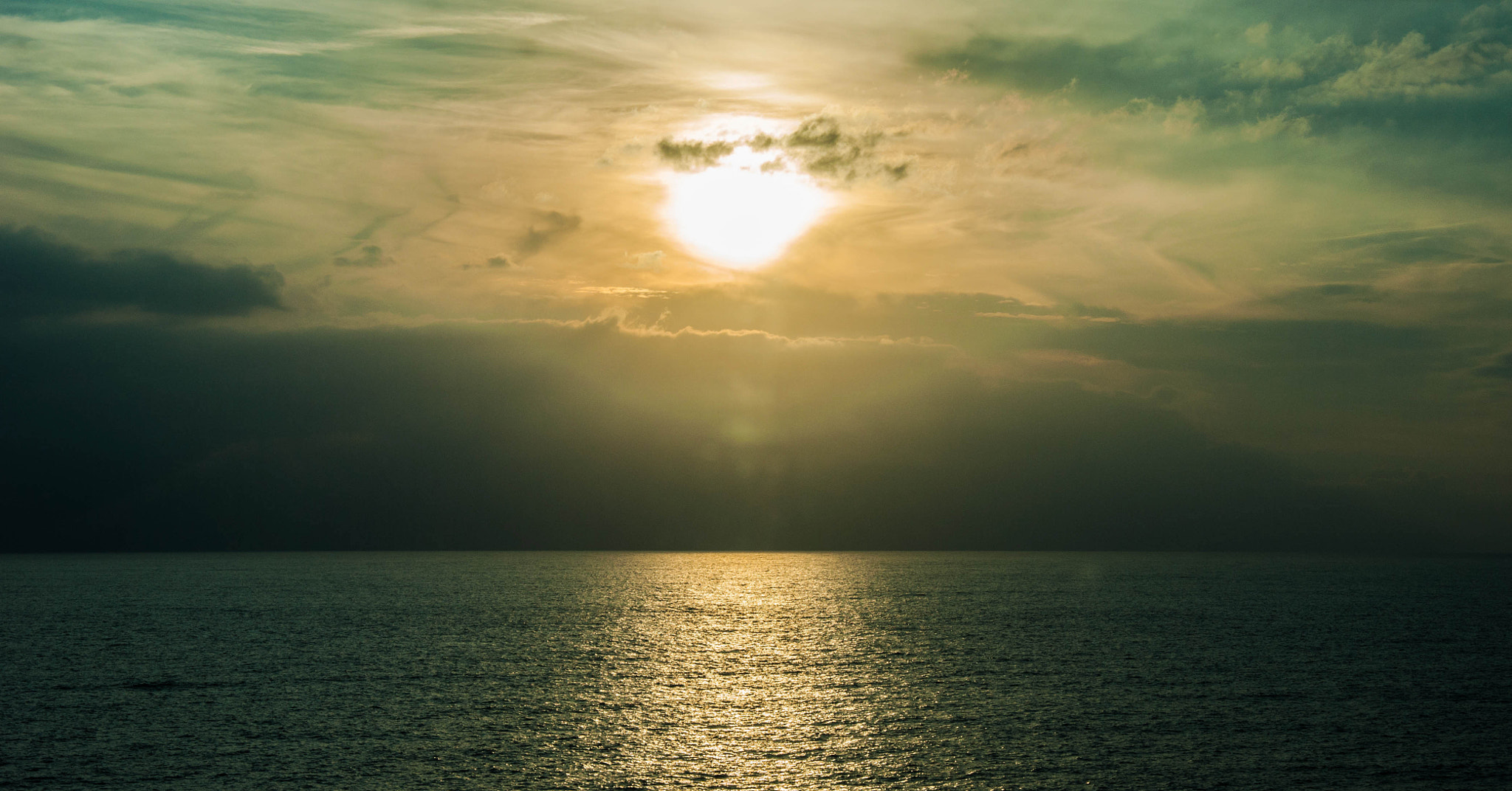 Photograph Sunset in the sea by Aviv Osterman on 500px