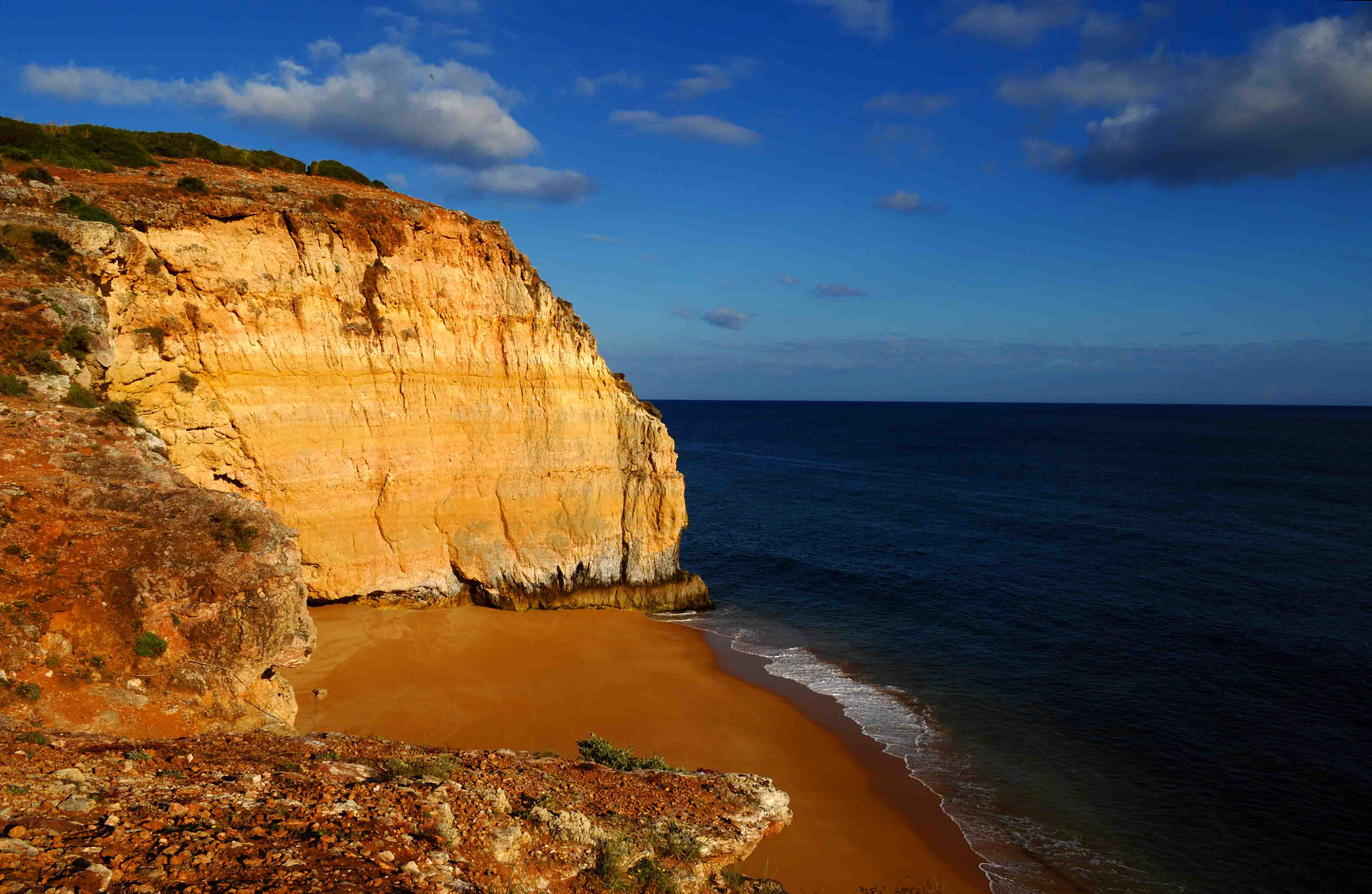 Photograph Beach between cliffs by José Eusébio on 500px