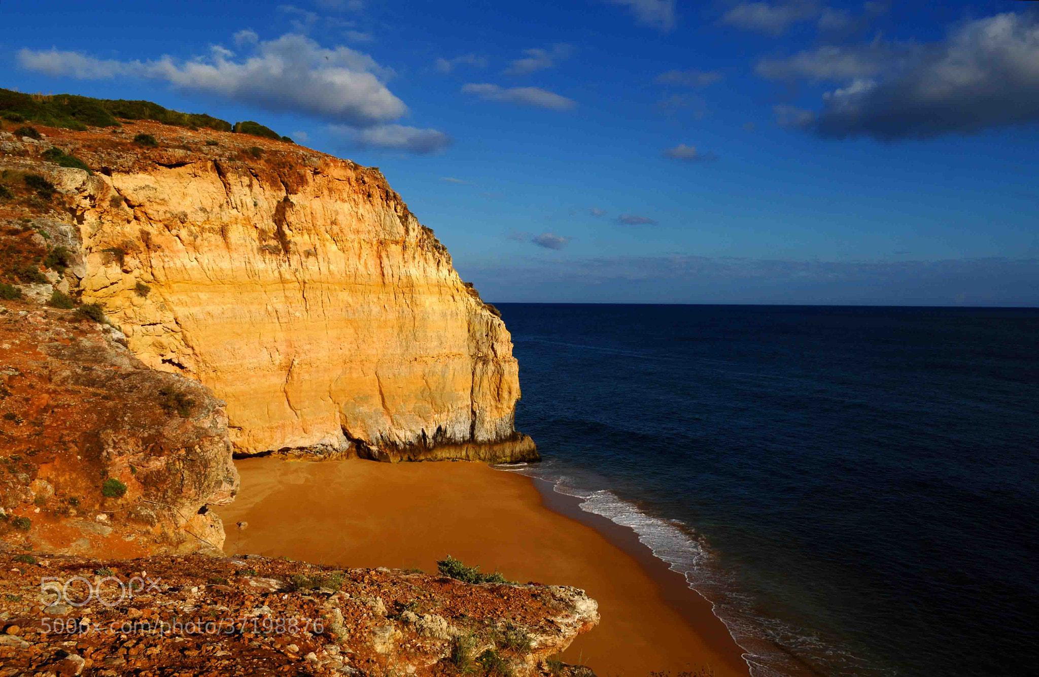 Photograph Beach between cliffs by José Eusébio on 500px