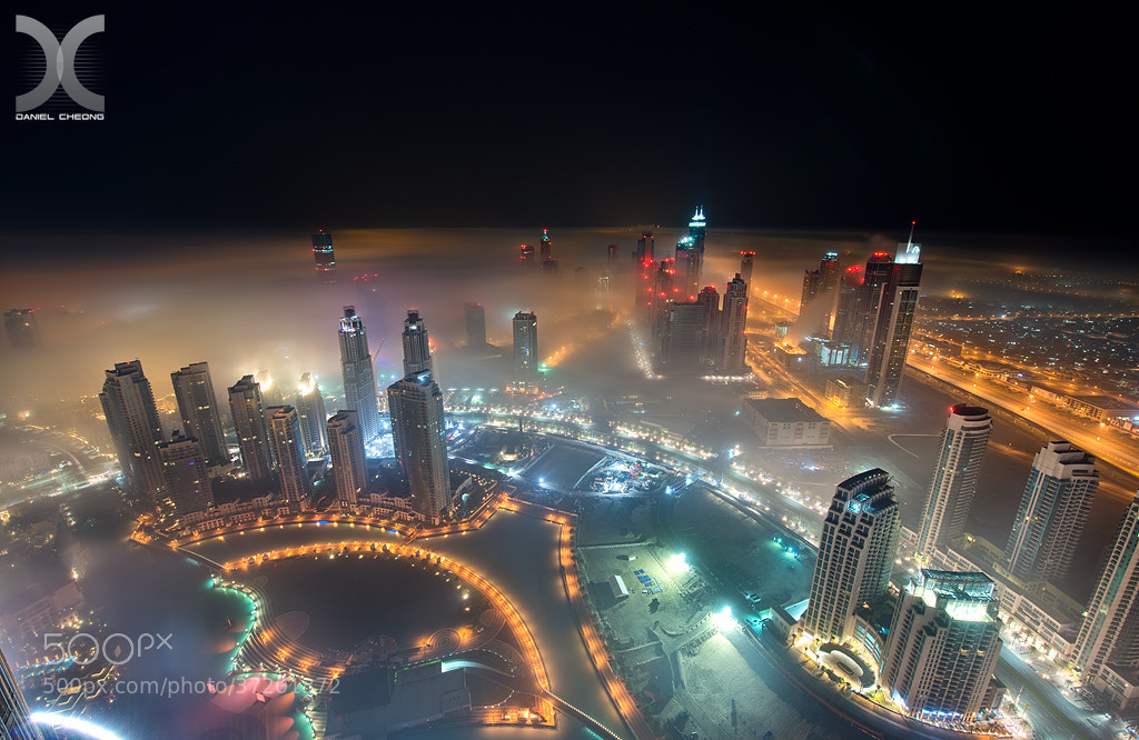 Photograph A Cryogenic Night in Dubai by Daniel Cheong on 500px