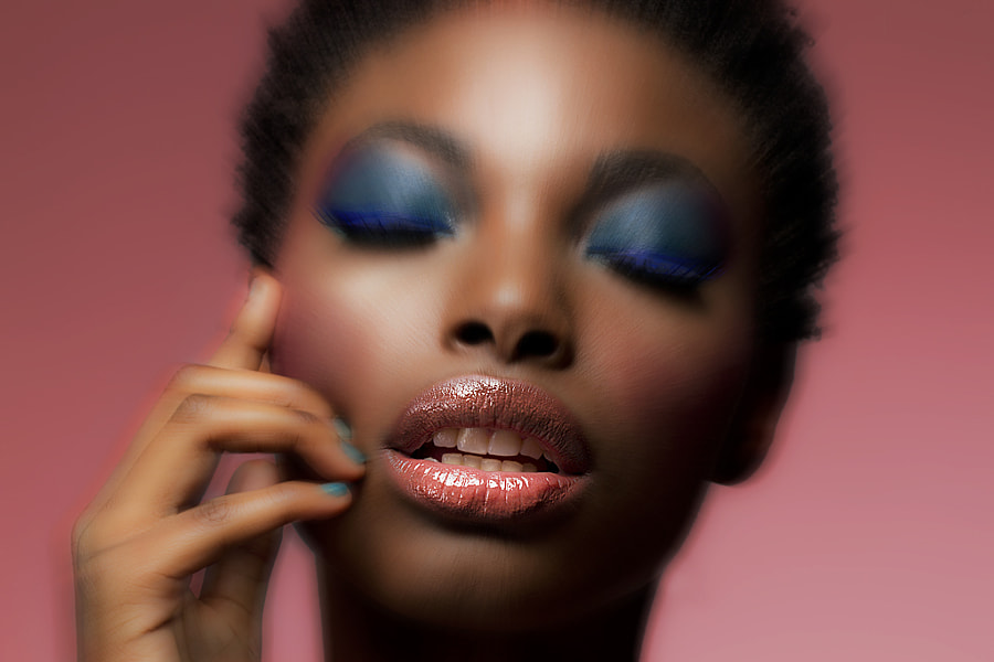 Fun edit from latest beauty editorial with model Rose.