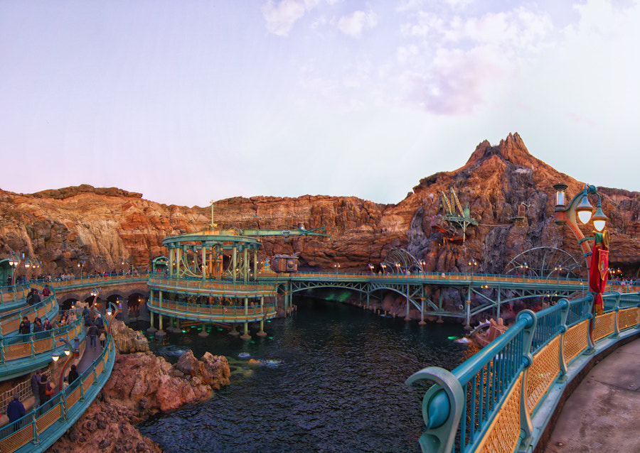 Photograph From Tokyo DisneySea by David Edenfield on 500px