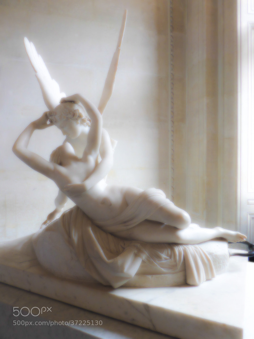 Photograph Psyche Revived by Cupid's Kiss by Florian Bonhoure on 500px