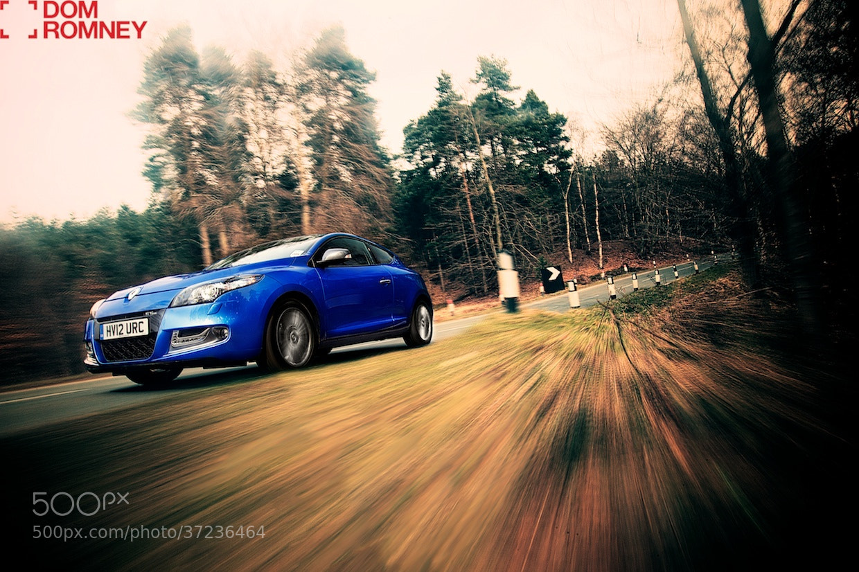 Photograph Renault Megane Tracking shot by Dom Romney on 500px