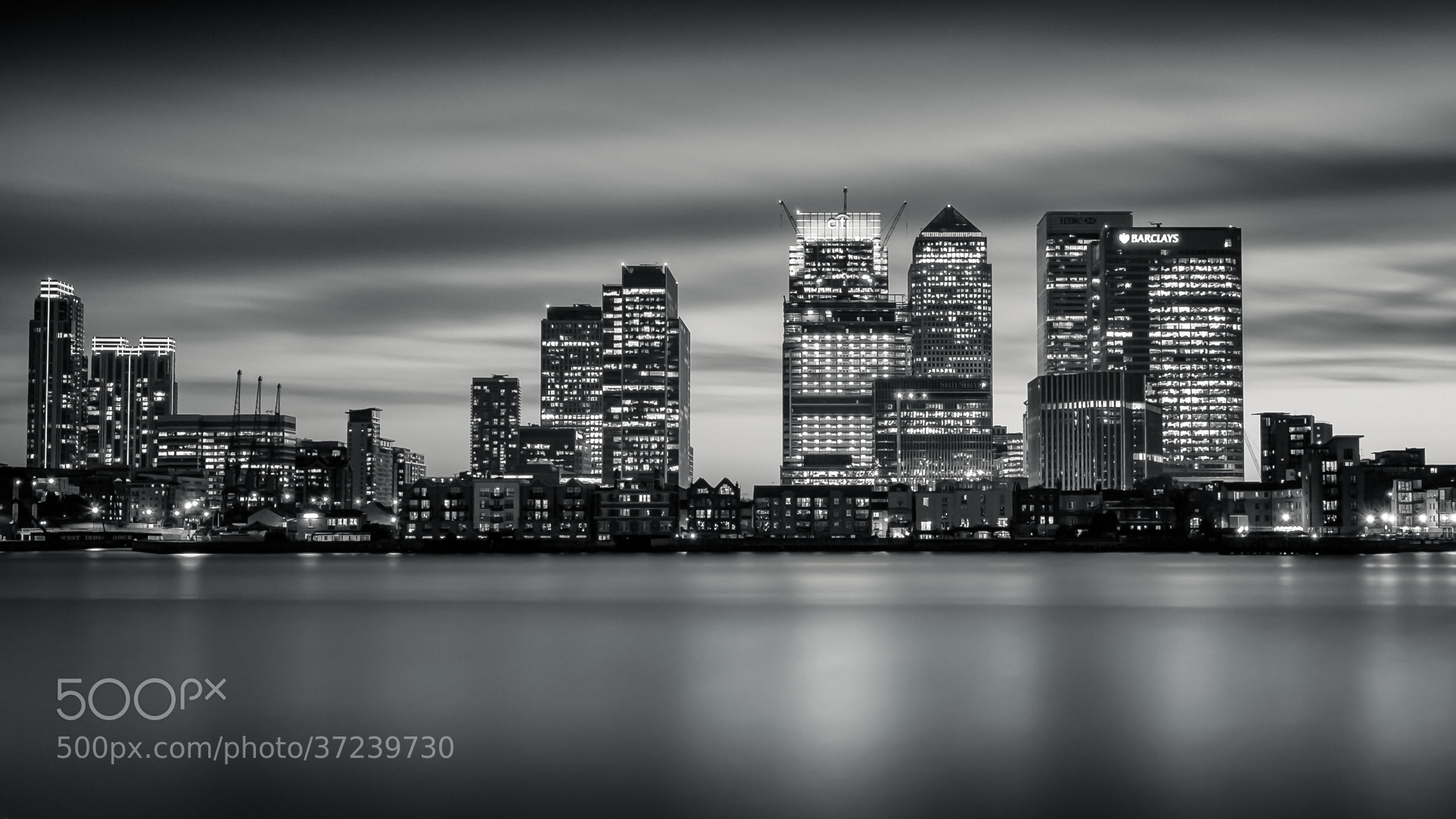 Photograph Canary Wharf Skyline by .Vulture Labs on 500px