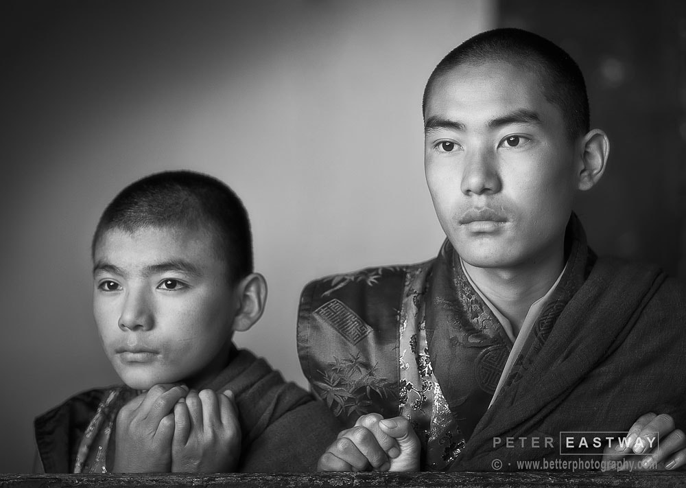 Photograph Jakar Monks by Peter Eastway on 500px