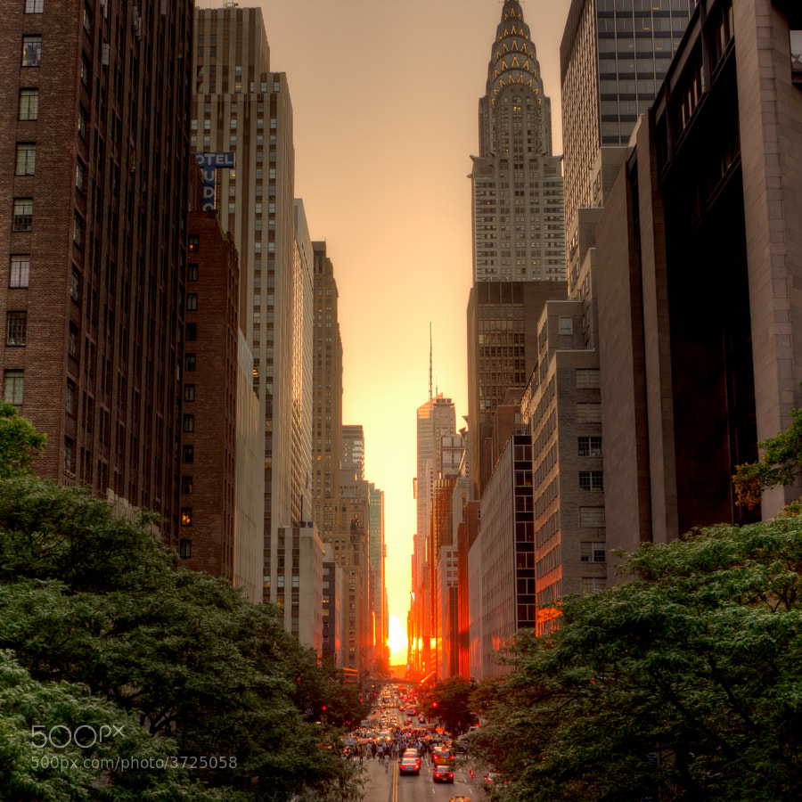 Photograph Manhattanhenge, July 2011 by Justin Kiner on 500px