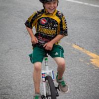 unicycle kid