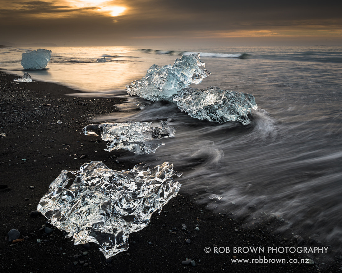 Photograph Ice, Jokulsarlon by Rob Brown on 500px