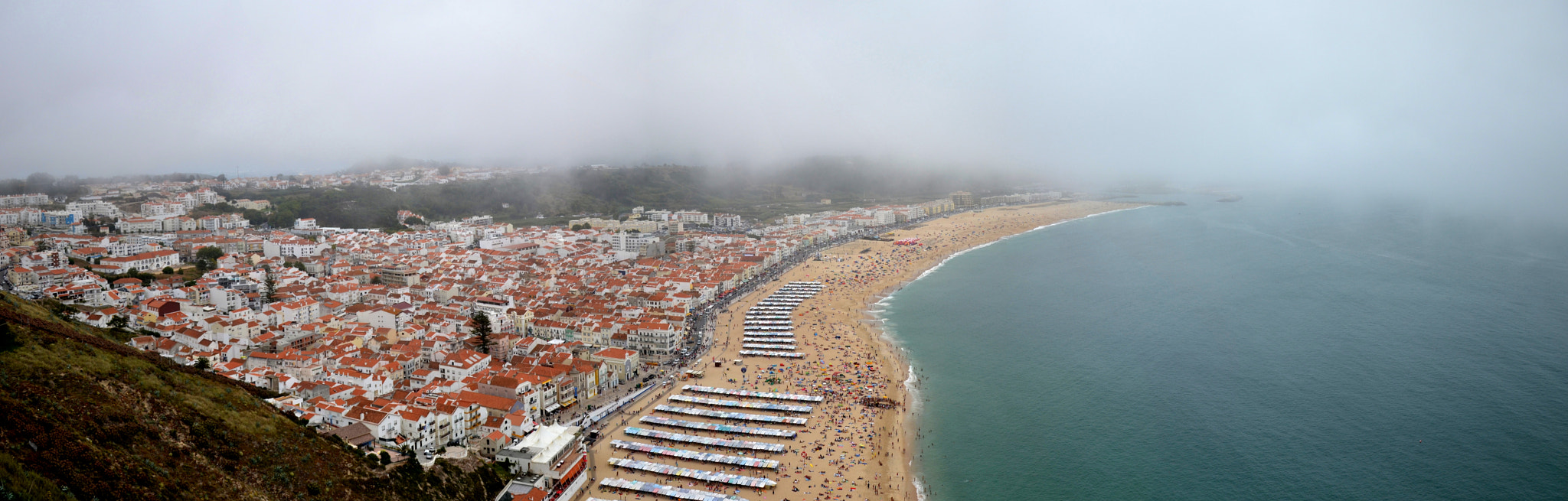 Photograph Panorama Nazaré by Johnny Mendes on 500px