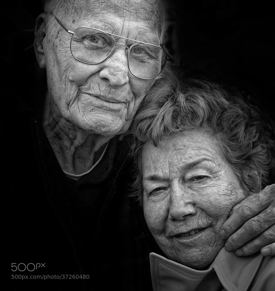 Photograph Old couple and big love by Martina Roberts on 500px