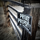 Private Property Series - Sign
