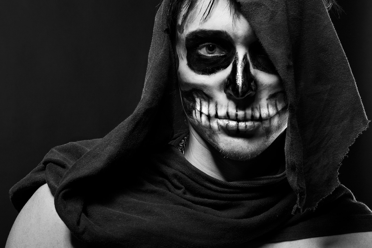 Photograph The Skull Man by Alina Gorn on 500px
